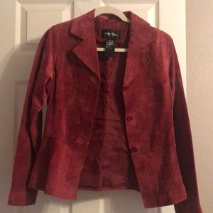 Like new vintage 100% Leather jacket